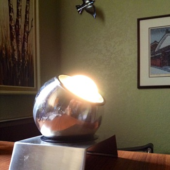 1970s Eyeball desk lamp
