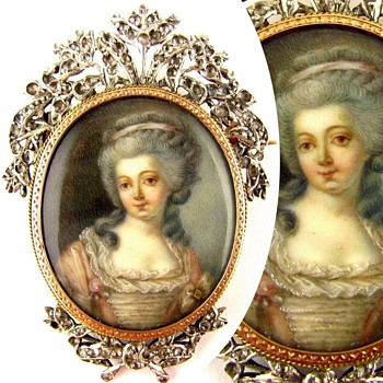 My Favorite Antique Portrait Brooch - Fine Jewelry