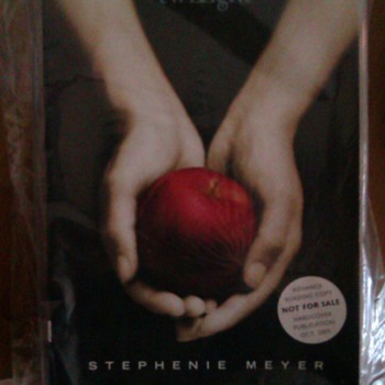 First Edition Twilight Stephanie Meyer 2005 Advance Readers Copy - Books