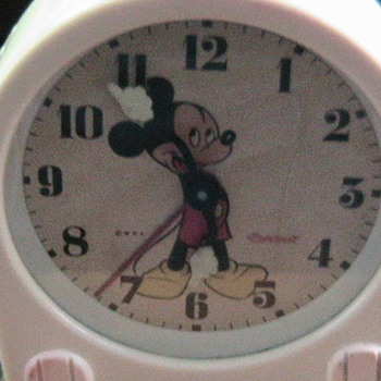 1949 Mickey Mouse Alarm Clock - Clocks