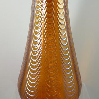 Loetz Orange Aeolus, PN II-2/595, ca. 1902