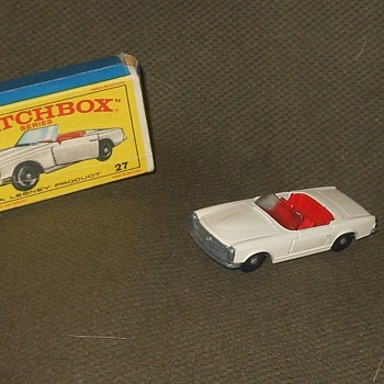 More Monday Matchbox Madness with a Mercedes - Model Cars