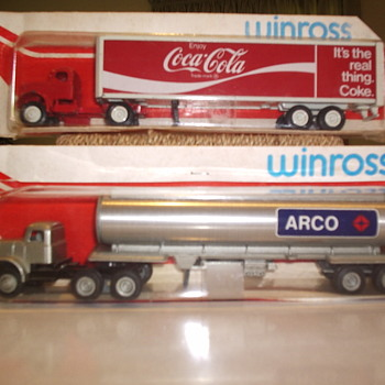 1970's Winross Coca Cola Trailer and Arco Tanker Diecasts from SA