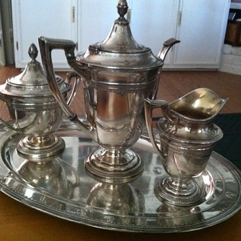 Sterling Tea Service