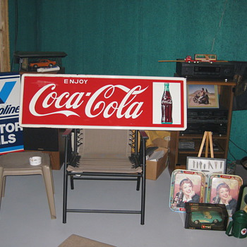!964 Enjoy Coca- Cola Bottle on right near mint