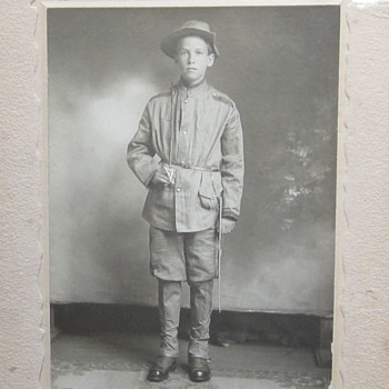 Photo of uniformed young man. 1911 - Military and Wartime