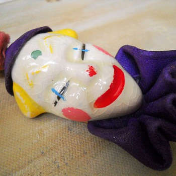 Elzac Clown Brooch?