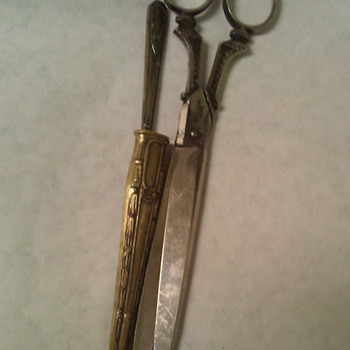 Robert Klaas scissors &amp; letter opener