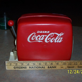 My first Coke dispenser - Coca-Cola