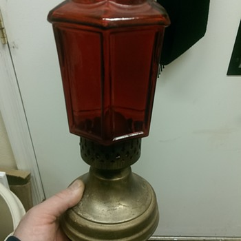 first oil lamp in my collection - Lamps