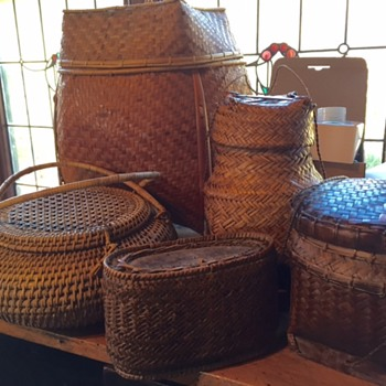 Old Phillipine baskets