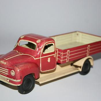 tippco wind up dump truck - Toys