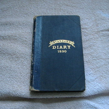1890 STANDARD DIARY
