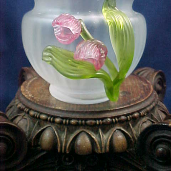 Kralik ~ Sweet Pea ~ Rose Bowl - Art Glass