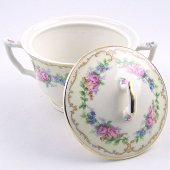 Avondale Old Ivory Creamer and sugar set - China and Dinnerware