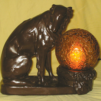 Old Dog Lamp