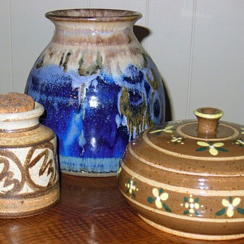 Few pieces of pottery to share.....