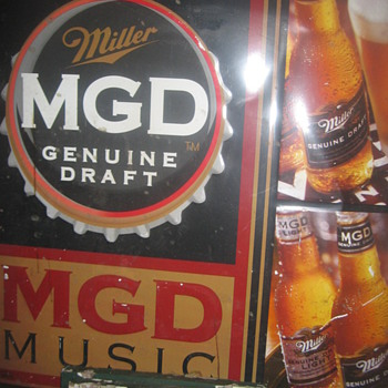 MGD Sign - Signs