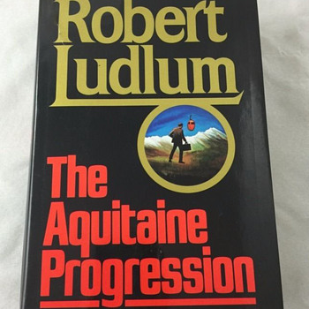 The Aquitaine Progression by Robert Ludlum - Books