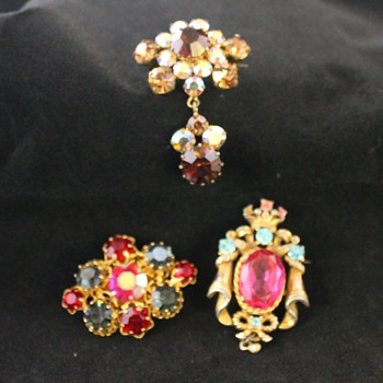 Costume Jewellery - Some Pinks - Costume Jewelry