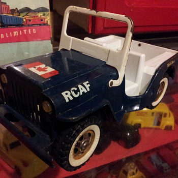 1966 RCAF Jeep. Tonka Canada. - Model Cars