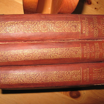 Alexandre Dumas Count of Monte Cristo antique books - Books