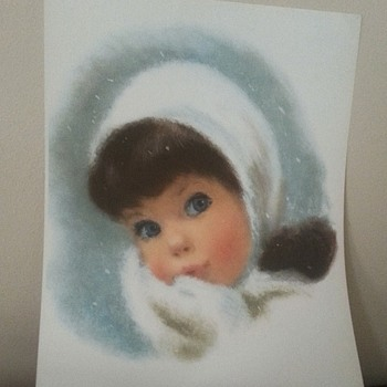4 Little Girls  Color Prints Suitable for Framing