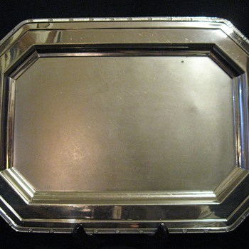1920s  HOTPOINT EDISON ELECTRIC APPLIANCE CO. ART DECO TRAY - Art Deco