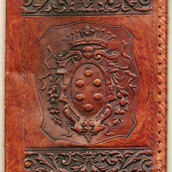 Genuine Leather Book Cover