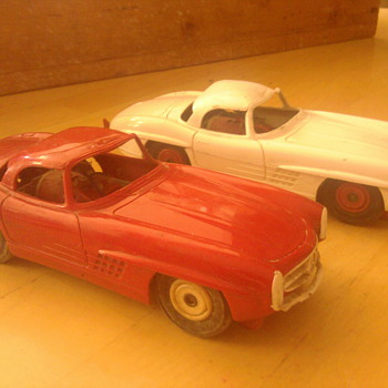 1/25 scale slot cars Mercedes...Who made them?
