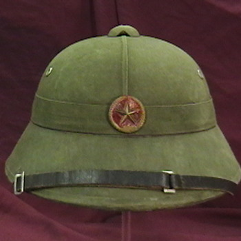 NVA Regular Pith Helmet - Military and Wartime