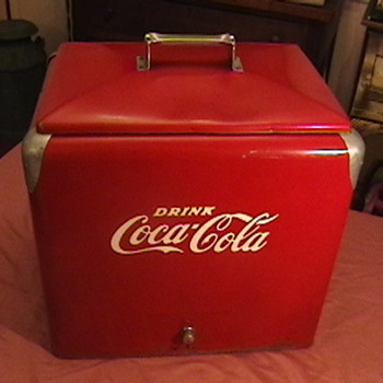 Original 1950s Coca-Cola Picnic Cooler - Coca-Cola
