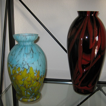 czechoslovakia art glass - Art Glass