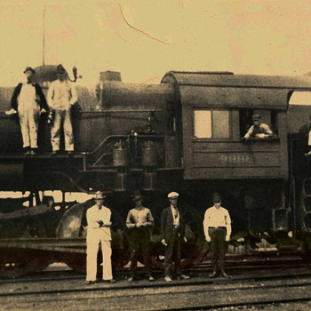 old train photos - Railroadiana