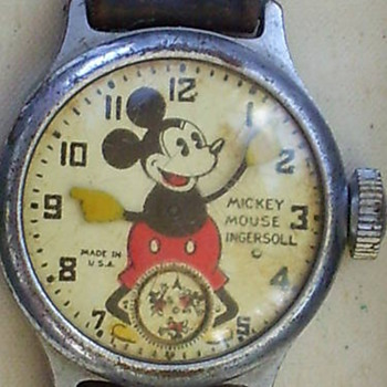 1934-37 Ingersoll Mickey - Wristwatches