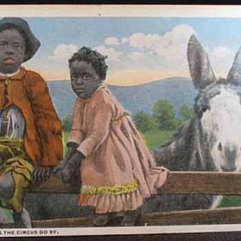 Vintage Black Americana Post Cards