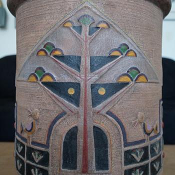 Huge Cracked Clay Pot
