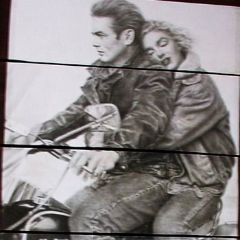 James Dean and Marilyn Monroe...on a Harley Davidson - Movies