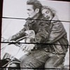 James Dean and Marilyn Monroe...on a Harley Davidson