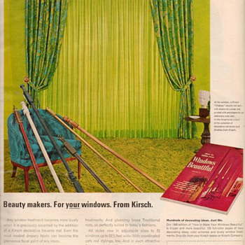 1968 - Kirsch Drapery Hardware Advertisement - Advertising