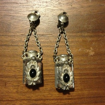 Very Unusual Earrings (?) - Costume Jewelry
