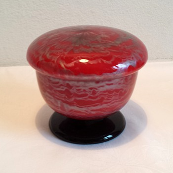 Loetz Tango-type with Titania - Art Glass