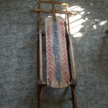 Vintage Yankee Clipper Sled - Outdoor Sports