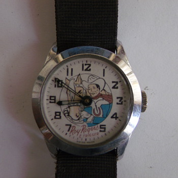 Roy Rogers White Dial Wrist Watch