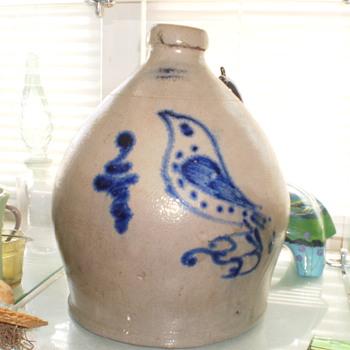 S HART FULTON Jug? - Art Pottery
