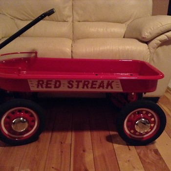 Red Streak 1954 Bought for me When I was child!! Restored!!