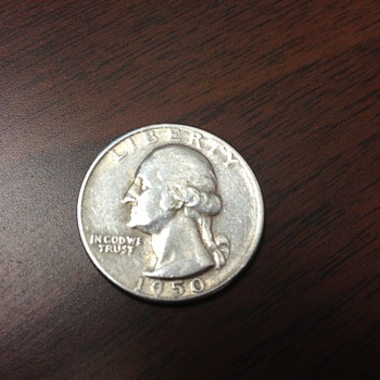 1950 S Quarter Dollar - US Coins