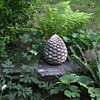 Very Old Cement Pineapple Finial