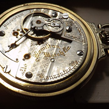 1901 Hamilton 940 21 Jewel - Pocket Watches
