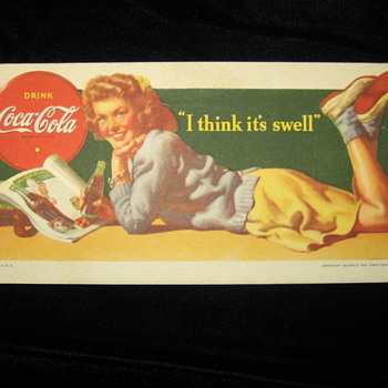 Coca Cola Blotters